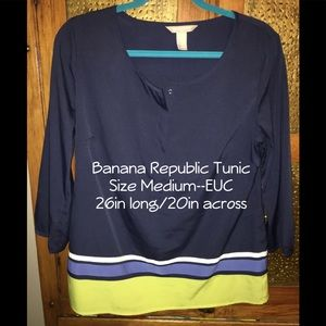 Banana Republic Tunic—EUC—Size Medium